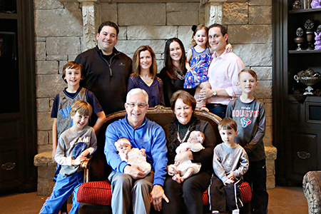 David L. Houston family photo